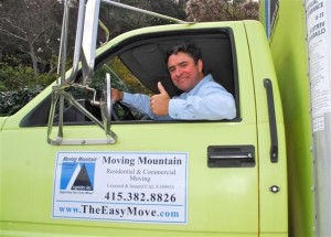 FREE Estimate from Sean Morris, Owner/Moving Mountain, Novato Moving Company, Marin Mover