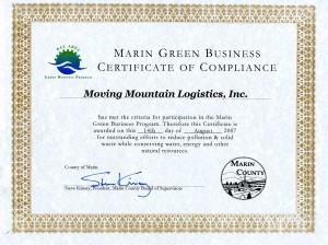 GREEN Business Certificate
