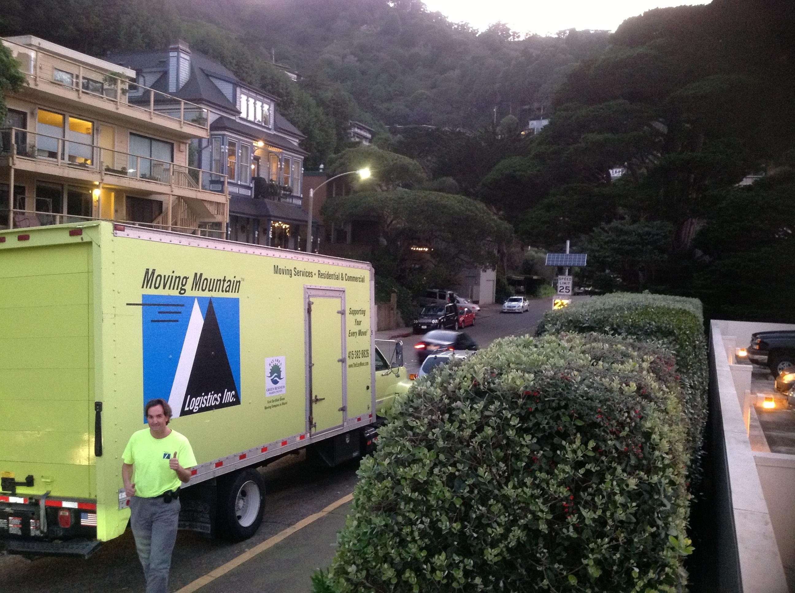 When do I call a Marin moving company?